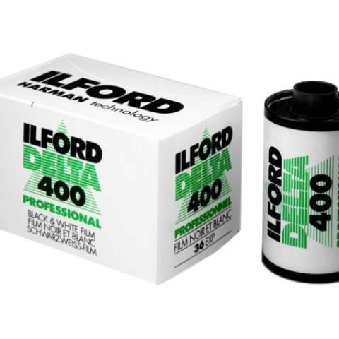 FILM NOIR ET BLANC ILFORD DELTA 400/36p 35mm