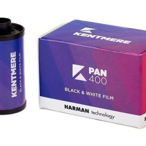 FILM NOIR ET BLANC HARMAN PAN400/36p 35mm